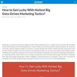 What is big data driven Marketing ?