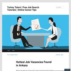 Hottest Job Vacancies Found in Ankara