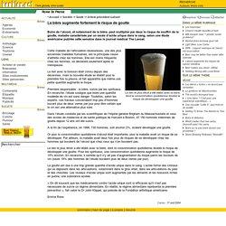 """houblon.net - """"La bière augmente fortement le risque de goutte"""""""