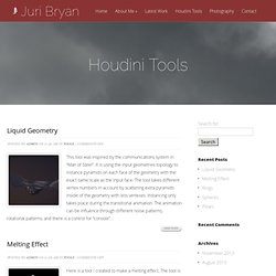 Houdini Tools