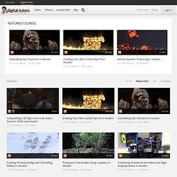 View All Houdini Tutorials and Training