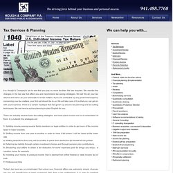 Hough & Company, PA, CPA - Tax Services