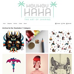 The Art of SharingIllustration ! Archives - HouHouHaHa
