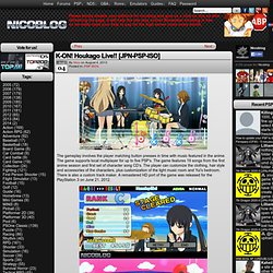 K-ON! Houkago Live!! [JPN-PSP-ISO] – NicoBlog