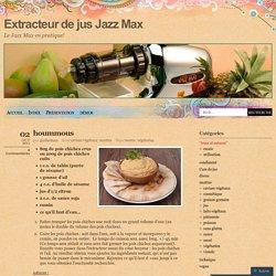 Extracteur de jus Jazz Max
