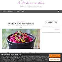 Houmous de betteraves - Lili et ses recettes