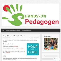 Hour of Code med Hands-On Science