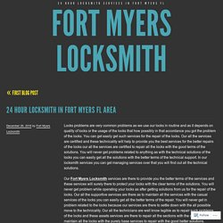 Fort Myers Locksmith