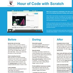 Hour of Code with Scratch