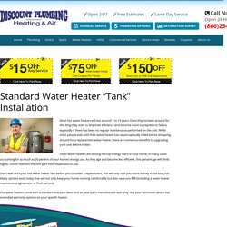 24 Hour Service – Tank Installations