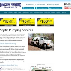 24 Hour Service – Septic Tank Pumping