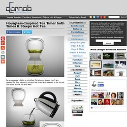Hourglass-Inspired Tea Timer both Times & Steeps Hot Tea | Designs &amp...