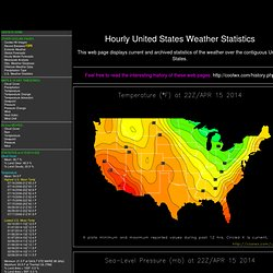 Hourly United States Weather Statistics
