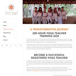 200 Hours Yoga Teacher Training Goa