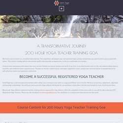 200 Hours Yoga Teacher Training Goa, India