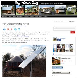 Yurt Living in Upstate New York