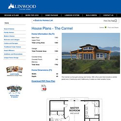 The Carmel Post and Beam Series Custom Home