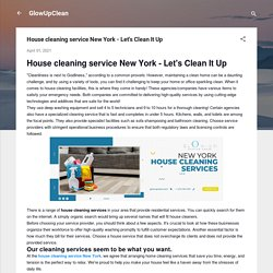 House cleaning service New York - Let's Clean It Up