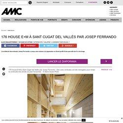 L'architecte barcelonais Josep Ferrando a conçu une maison à la japonaise en tirant profit d'une parcelle de 6 m de large - 19/12/16