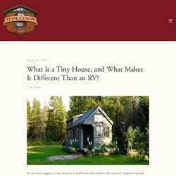 What Is a Tiny House, and What Makes It Different Than an RV?
