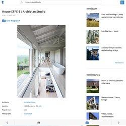 House EFFE-E / Archiplan Studio
