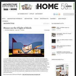 House on the Flight of Birds | interiorscreation