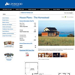 The Homestead Post and Beam Series Custom Home