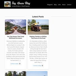 Tiny House Blog - Small House Living