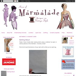 House of Marmalade: Darting About