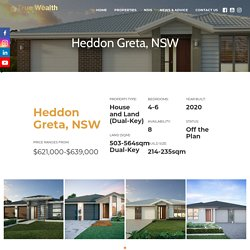 House and Land Packages NSW
