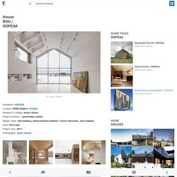 House Riihi / OOPEAA