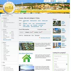Buy a house or a villa in Turkey - 1069 listings on ee24.com