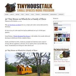 30' Tiny House on Wheels by Rocky Mountain Tiny Houses