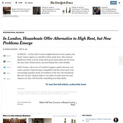 Houseboats in London 26/09/2014 - NYTimes.com