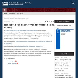 Household Food Security in the United States in 2017