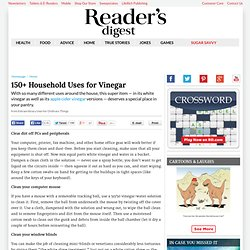 150+ Household Uses for Vinegar