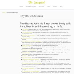 Tiny Houses Australia - The Upcyclist