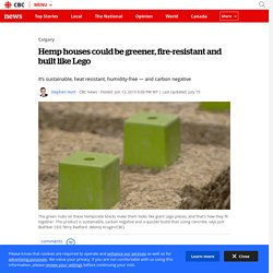 Hemp houses could be greener, fire-resistant and built like Lego