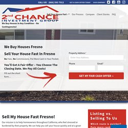 We Buy Houses Fresno CA - Sell My House Fast