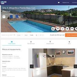 HouseTrip.fr – VILA 4 - ¡Magnífica planta baja con piscina!