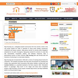 Raja Housing Feedback Forum Online