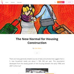 The New Normal for Housing Construction - Uzair Awan