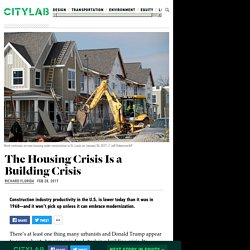 The Housing Crisis is a Construction Crisis