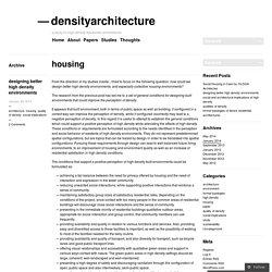 densityarchitecture