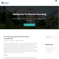 Blog - Mount Housing & Infrastructure Limited