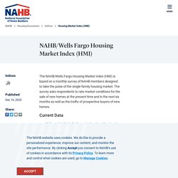 Housing Market Index (HMI) - NAHB