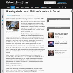 Housing deals boost Midtown's revival in Detroit