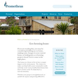 Eco housing loans › Personal › Prometheus Finance