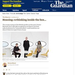 Housing: rethinking inside the box…