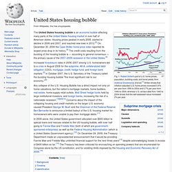 United States housing bubble